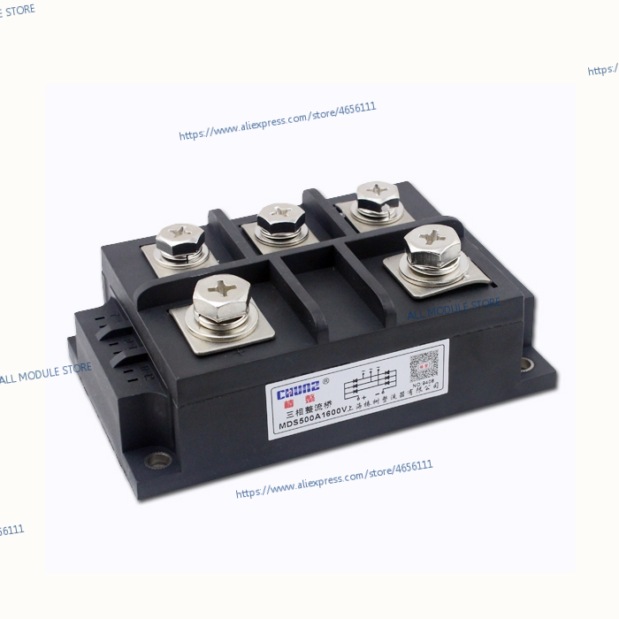 MDS500A 1600V NEW AND ORIGINAL Three phase rectifier module MDS 500A 1600V MDS500A 16