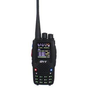 Image 3 - Qyt クワッドバンドハンドヘルド双方向ラジオ KT 8R 4 バンド屋外インターホン kt 8R uv 2 ウェイラジオ KT8R 色ディスプレイ 5 ワットトランシーバ