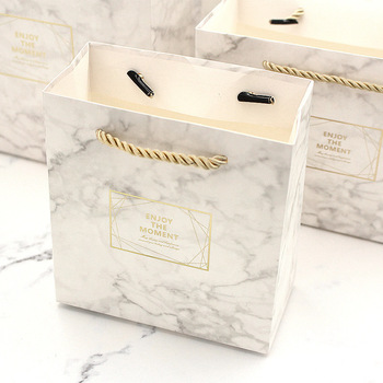 Small Box Marble Color Vintage Wedding Candy Box Gift Bag Kraft Paper Gift Box Chocolate Boxes