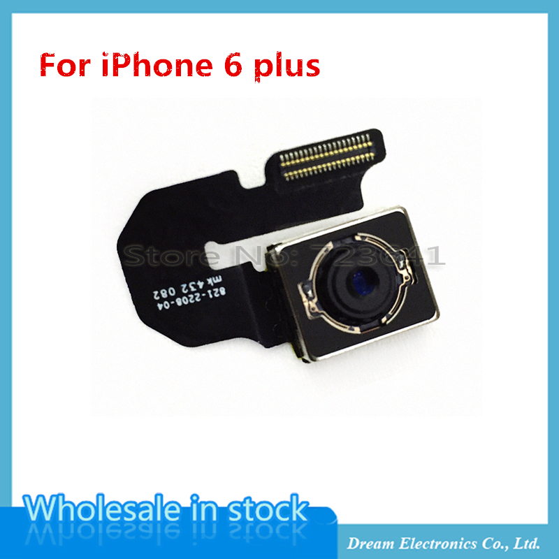 Mxhobic 5pcs lot repair parts rear back camera lens flex cable module for iphone 6 plus 5 5 39 39 in - Reparation telephone lens ...