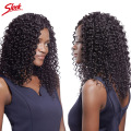 8A Malaysian curly hair 3 bundles Malaysian virgin hair water wave virgin hair  kinky curly virgin hair perruque cheveux humain