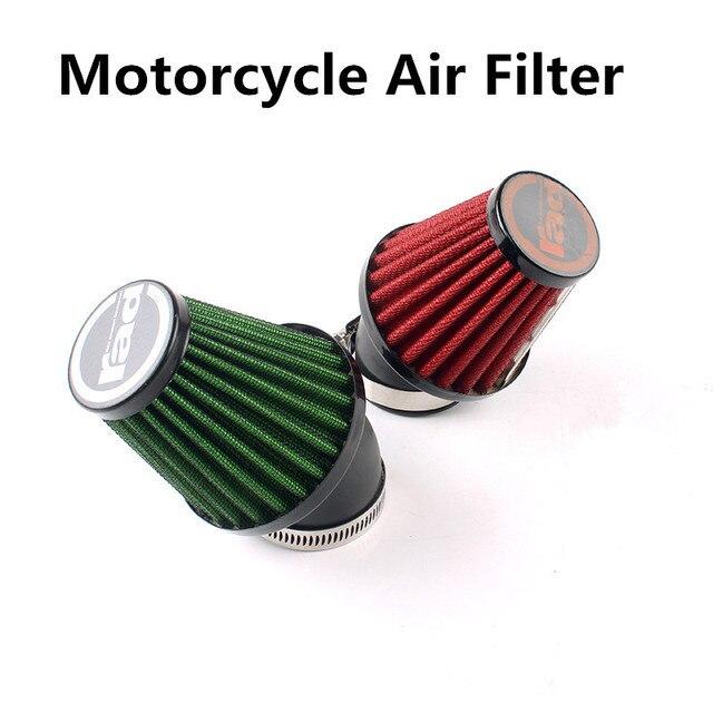 Universal A Estrenar 35mm 42mm 48mm 3 Estilos RAD Racing Moto Motocicleta Del Filtro de Aire de Seta de Pinza en Filtros De Aire productos de Limpieza