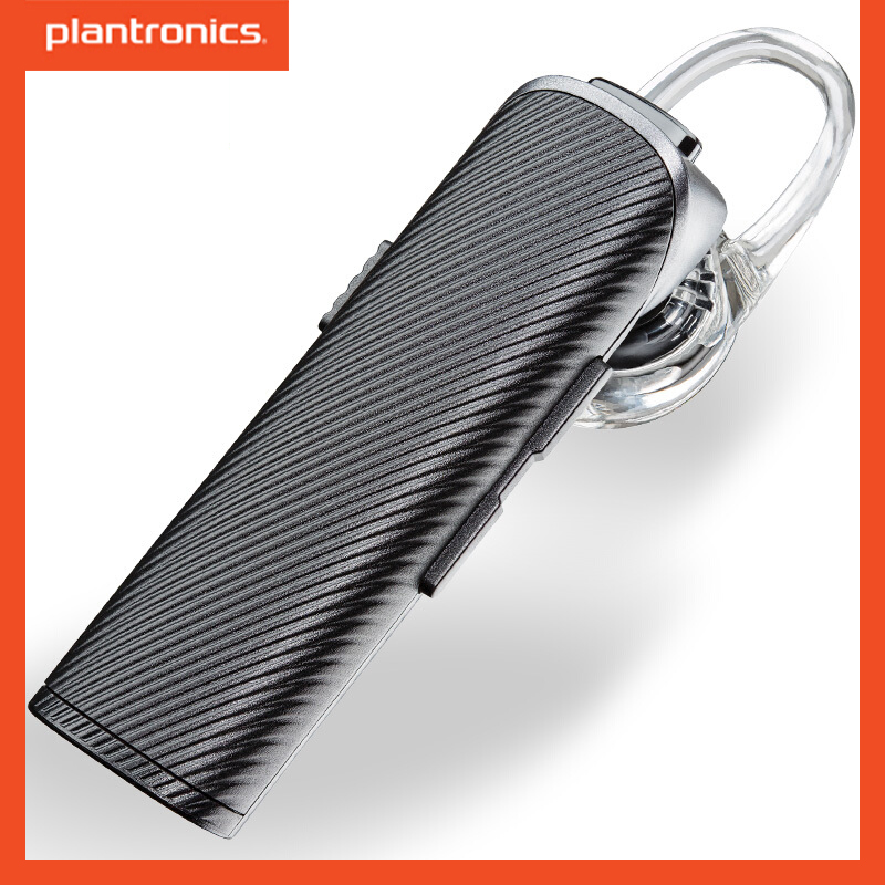 Plantronics Explorer 110 <font><b>Bluetooth</b></font> Wireless <font><b>Earphone</b></font> Voice Dialing With Headset <font><b>Holder</b></font> In-car Charging Mic For Ios Android image