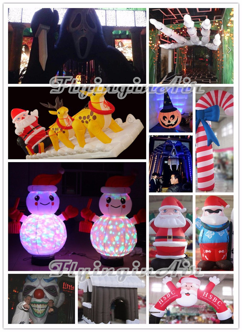 outdoor snowman decoration Christmas inflatable_