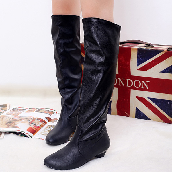 14 new winter fashion flat women boots warm plush snow boots platforms mid-calf bow boots thicken beige coffe,brown black XY005