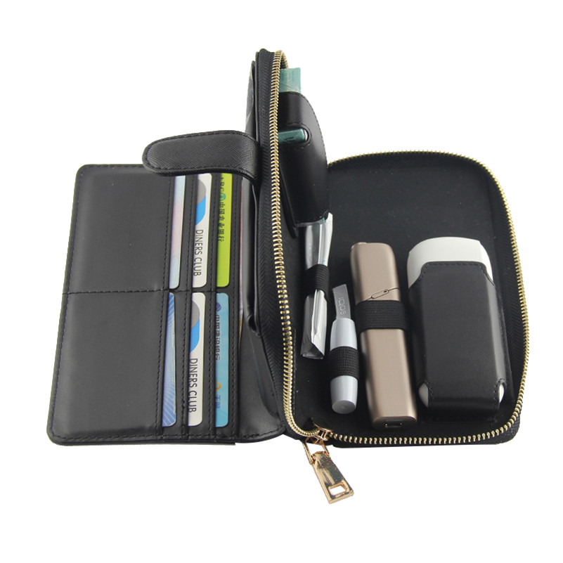 Case For IQOS3.0 Multi Case Pouch For IQOS3.0 PU Leather Bag Wallet Protective Holder Cover Electronic Cigarette Accessories