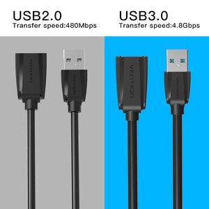 Image 2 - USB2.0 intervento USB al Cavo di Estensione USB Maschio a Femmina 3.0 Cavo Codice Per Computer per Proteggere La Porta USB 5m 3m 2m Cavo di Prolunga