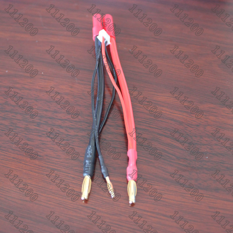 4mm Bullet Banana to 4mm Redcat HXT LiPo Battery Lead Wire & JST-XH Balance Plug