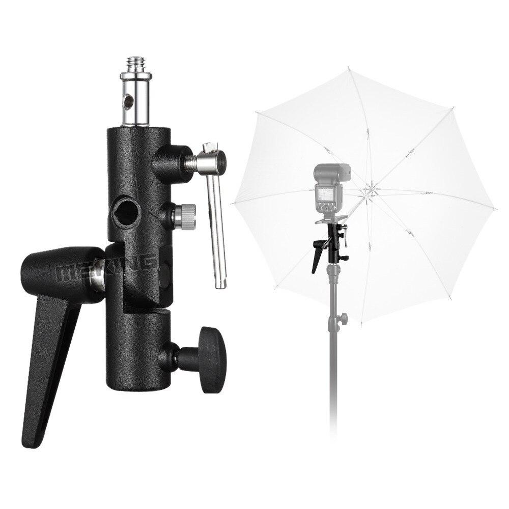 Meking New Selens Flash Shoe Umbrella Holder Light Stand Bracket M11 050 for photographic