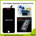 Sem manchas sem pixel AAA qualidade 6 mais tela de 5.5 polegada 1 pcs display lcd preto digitador com vidro temperado livre para iphone 6 além de