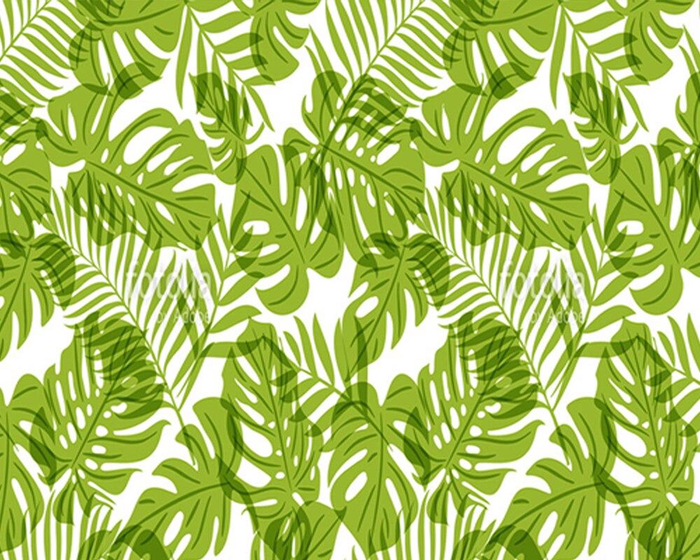 Tapete Palmen custom home dekoration tapete grün palme blätter natürliches