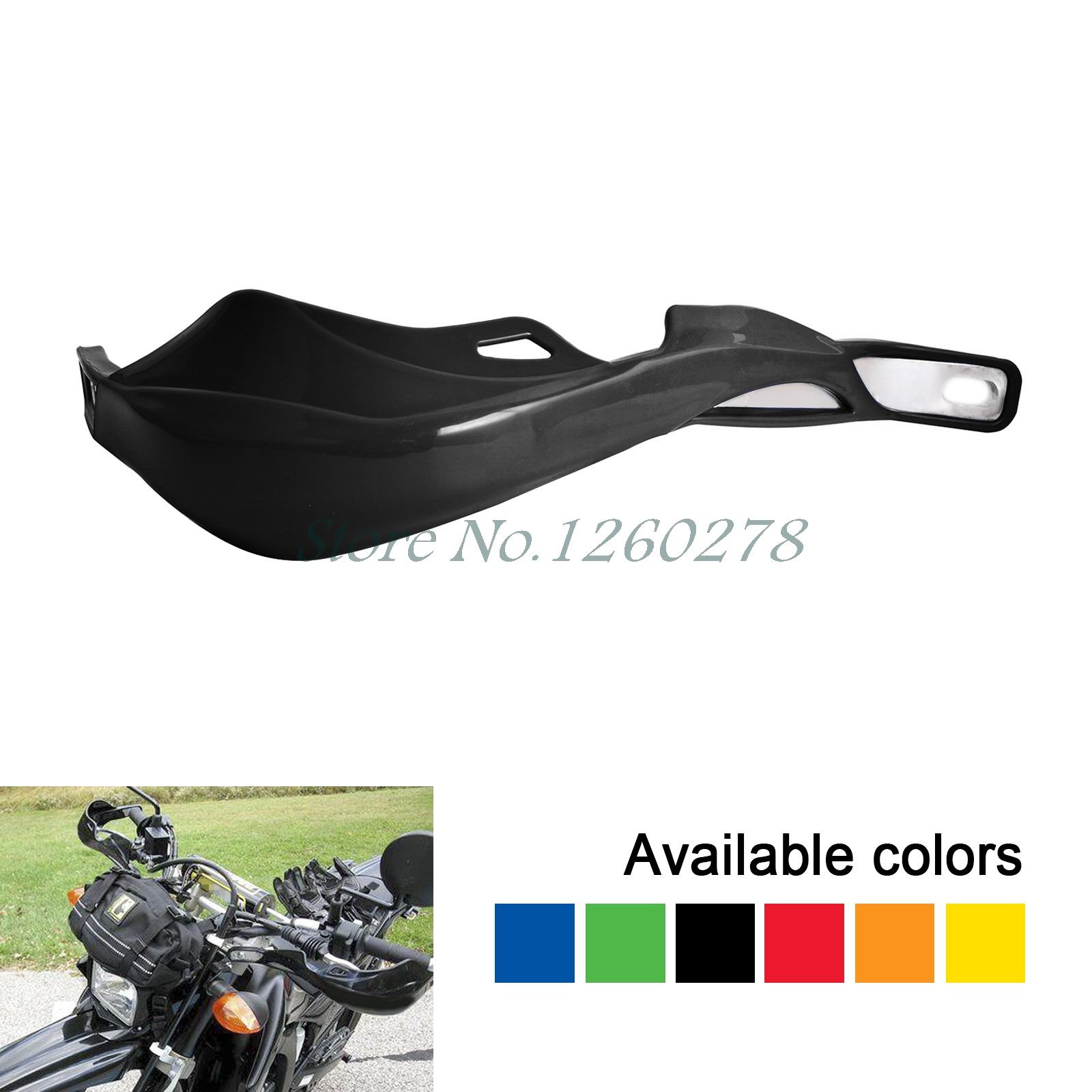 Universal 28mm Handlebar Handguard Hand Guard Motorcycle Pit Dirt Bike ATV Clutch Brake Falling Protection