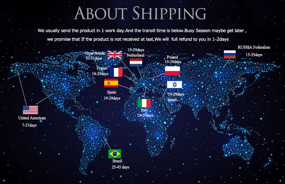 ANMINGPU car lamo Shipping