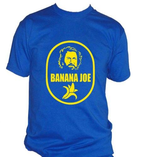 fm10 t-shirt maglietta uomo BANANA JOE Bud Spencer film idea regalo CINEMA&TV Harajuku Tops t shirt Fashion Classic Unique
