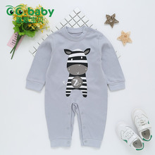 New Baby Girl Jumpsuit Long Sleeve Newborn Boy Baby Romper Clothes Baby Onesie Rompers Baby Girls Clothing Zebra Outfit Overalls
