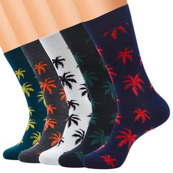 1 Pair Winter high Quality Harajuku chaussette Style Weed Socks For Mens Cotton Hip Hop Man Meias Calcetines