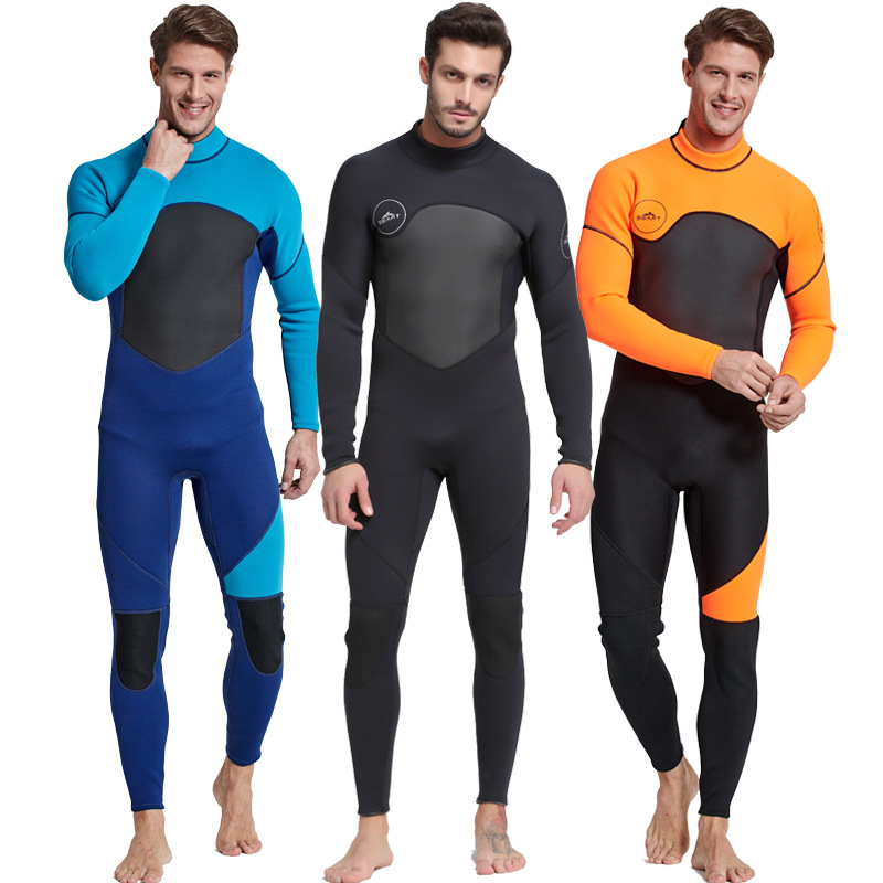 3mm Diving suit neoprene diving spearfishing wetsuit snorkel swimsuit for men diving adventure