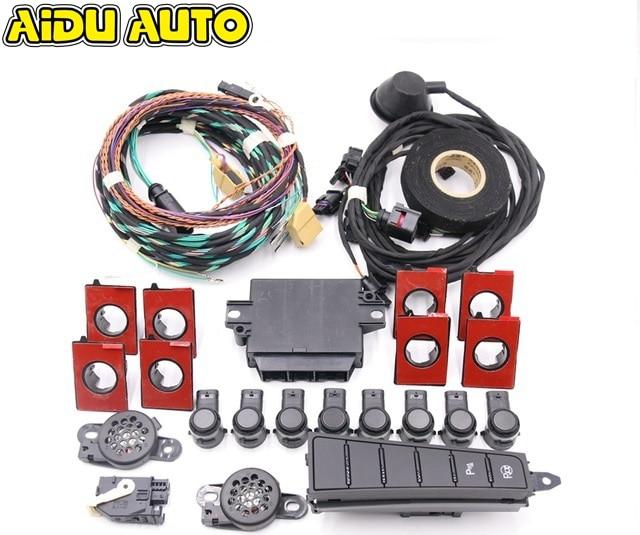 Pour VW Passat B7 CC Park Pilot avant et arrière 8 capteur 8 K PDC OPS 56D 919 475 A