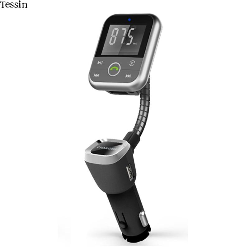 INGMAYA Cargador de coche USB 5V2.1A Bluetooth Transmisor FM Tarjeta - Accesorios y repuestos para celulares