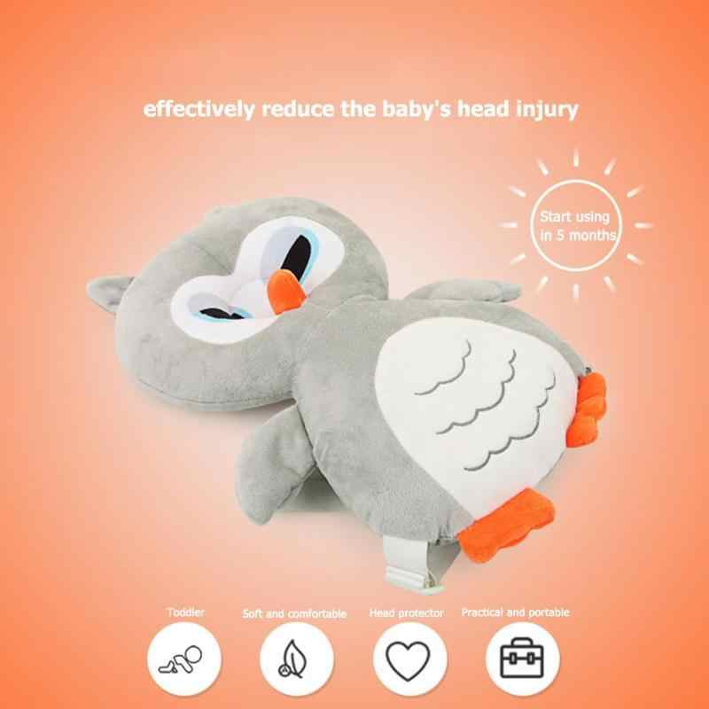 Animal Style Baby Head Protection Pad Toddler Headrest Pillow Wings Cushion