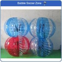 Free Shipping Air Bubble Soccer 0.8mm PVC 1.2m Air Bumper Ball Kids Body Zorb Ball Bubble Football Bubble Soccer Zorb Ball