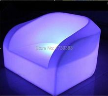 Rechargeable DOWN led luminous furniture led waterproof armchair sofa decorating your living room,bedrooms, garden,bar,terrace