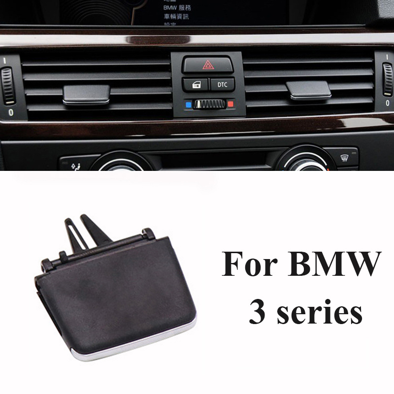 Air conditioning <font><b>vent</b></font> toggle piece outlet card clip wind direction plectrum knob For <font><b>BMW</b></font> 3 series <font><b>E90</b></font> 318i 320i 325i 330i 335i image