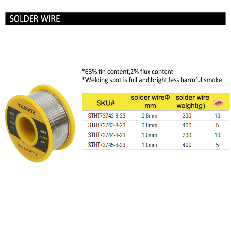 STHT73744-8 solder wire size