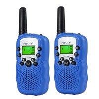 מכשיר הקשר Porster שחור / כחול / ורוד / 2pcs צהוב מיני מכשיר הקשר Kids רדיו תחנת RT388 0.5W PMR PMR446 FRS UHF רדיו נייד חדש (4)