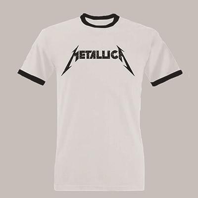 fe5ff08ed 2015 Metallica T shirt Men's Fashion Metallica Rock Band Printed Short  Sleeve T shirt Top Cotton Multicolor Tee Shirts Euro Size-in T-Shirts from  Men's ...