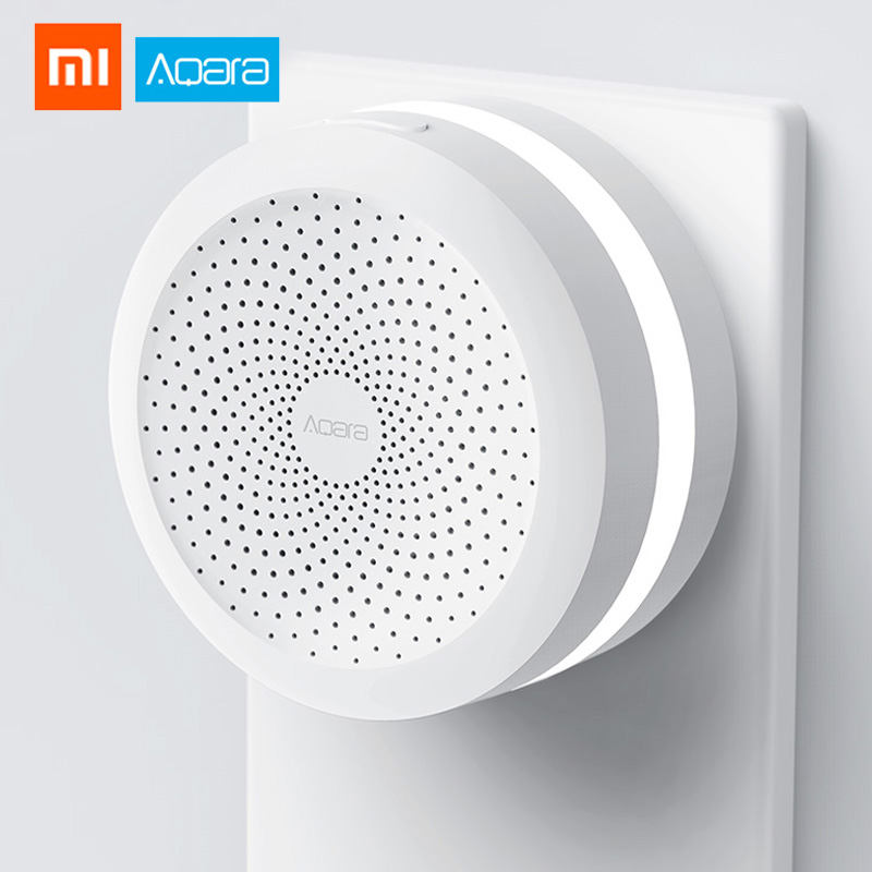 Xiaomi Gateway2 Aqara Hub mijia шлюз беспроводной WiFi ZigBee умные RGB огни ночник для приложения Mi Home|Смарт-гаджеты|   | АлиЭкспресс