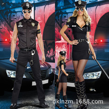 Taste Police Game Uniform Lovers Archives Halloween Cosplay Serve Couples Costumes