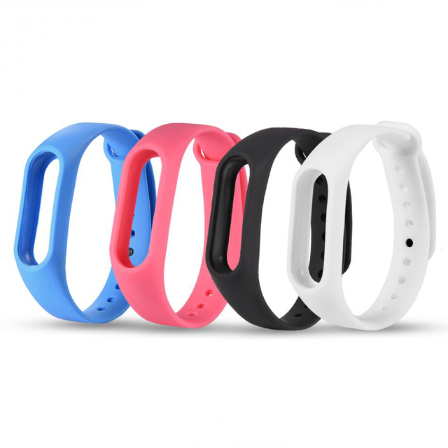 Soft Silicone Wrist Band Watchband for XIAOMI MI Band 2 Tracker Fitness Bracelet Replacement Colorful Strap for Xiaomi miband 2