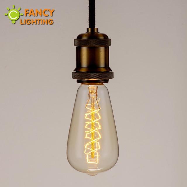 Edison Ampoule Amazing Abatjour Type Panier Vintage Industriel Pour