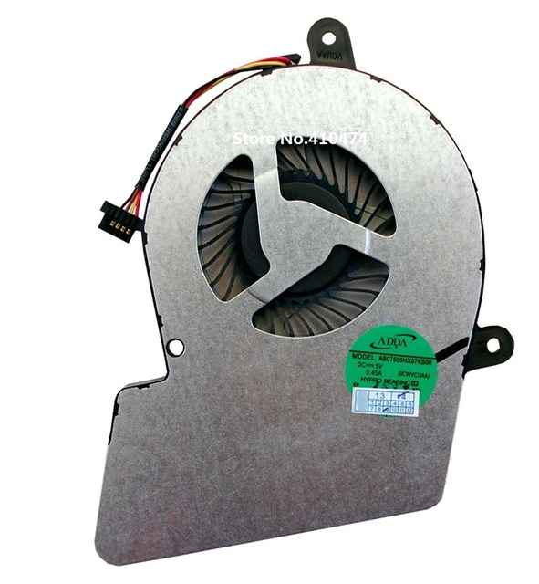 New laptop CPU Cooling Fan for Toshiba Satellite U900 U940 U945 Series laptop P/N AB07505HX07KB00 DC28000C6A0 CWVCUAA