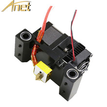Anet A8 A2 3D Printer MK8 Extruder Kit Header Extruder Parts 12V Heater Thermistor Heater Block M6x30mm Throat pipe 0.4mm Nozzle