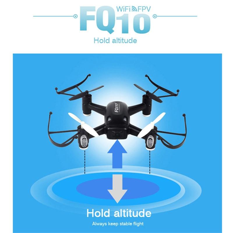 FQ777 RC Drone Dron 4CH 6-Axis Gyro Helicopter WiFi FPV RTF RC Quadcopter Drones with Camera Toy FQ777 FQ10A VS SYMA X5SW X5SW-1 wltoys v686k wifi video real time phone fpv quadcopter with camera headless mode 2 4g 4ch 6 axle gyro rc drone ufo rtf vs x5sw