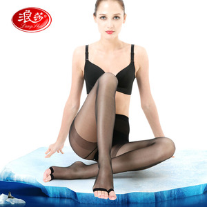 LANSWE high quality Aloe Extraction liquid SPA women tights summer ultrathin lady fish mouth Brand Pantyhose langsha