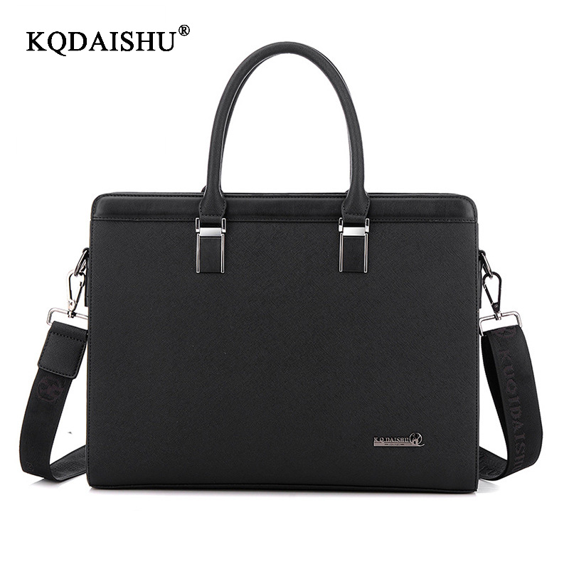 KQDAISHU Mens Handbag Shoulder Bags Laptop Briefcase Bags High quality Men Handbags pu Leather Men Large capacity zipper handbagKQDAISHU Mens Handbag Shoulder Bags Laptop Briefcase Bags High quality Men Handbags pu Leather Men Large capacity zipper handbag