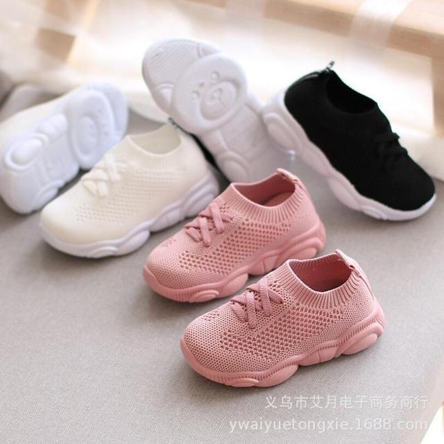 2019 ฤดูใบไม้ผลิและฤดูใบไม้ร่วงรองเท้าเด็กรองเท้าผ้าใบเด็กรองเท้าผ้าใบรองเท้าเด็กทารก Breathable ...