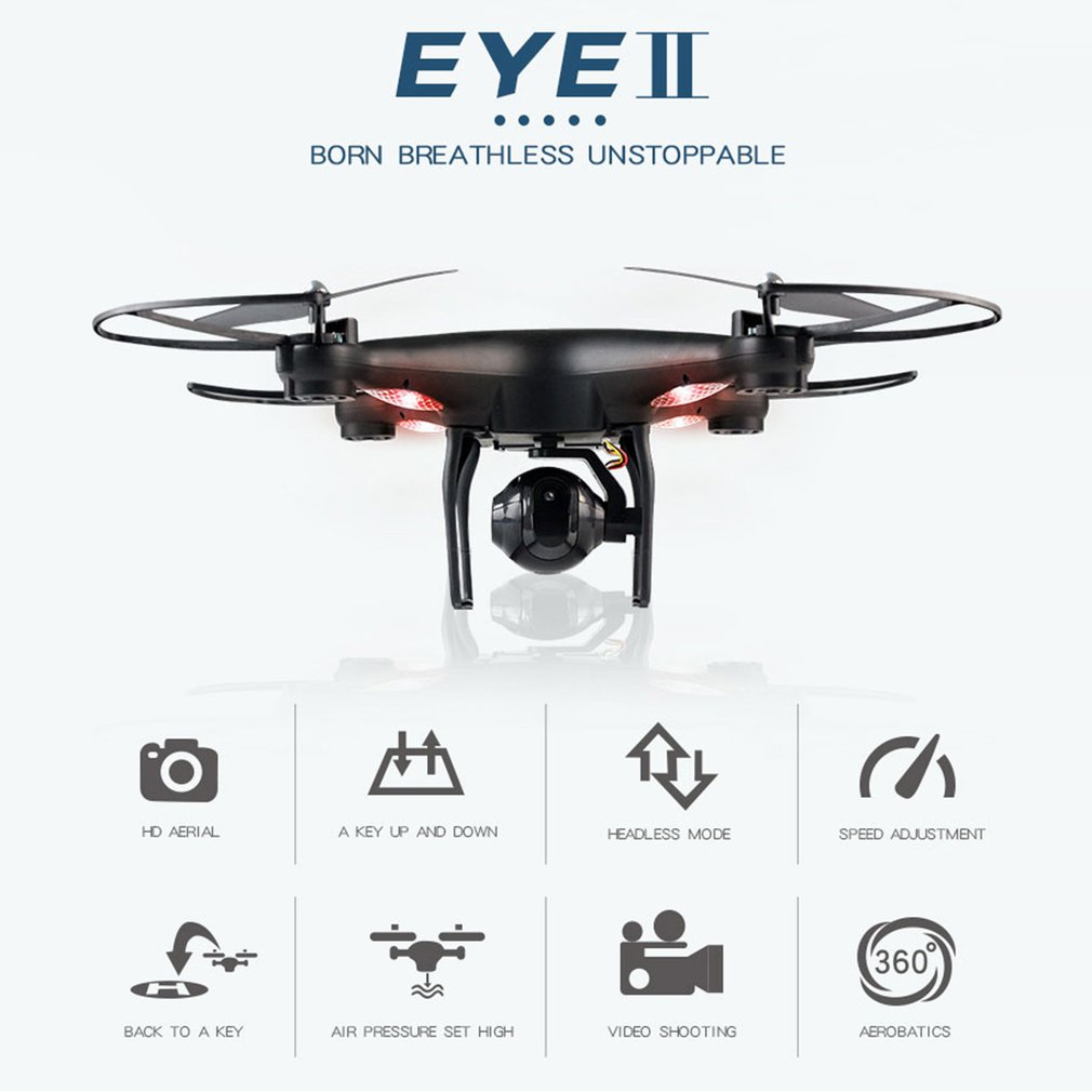 D68W-3 RC Selfie Smart Headless Drone 2,4 г Quadcopter самолета БПЛА с 0.3MP Wi Fi FPV системы Live Видео камера высота удержания 360 переворачивает