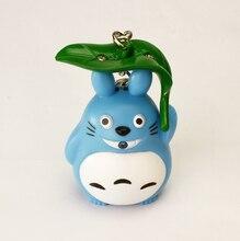 Totoro Umbrella Key Chain sound LED Flashlight