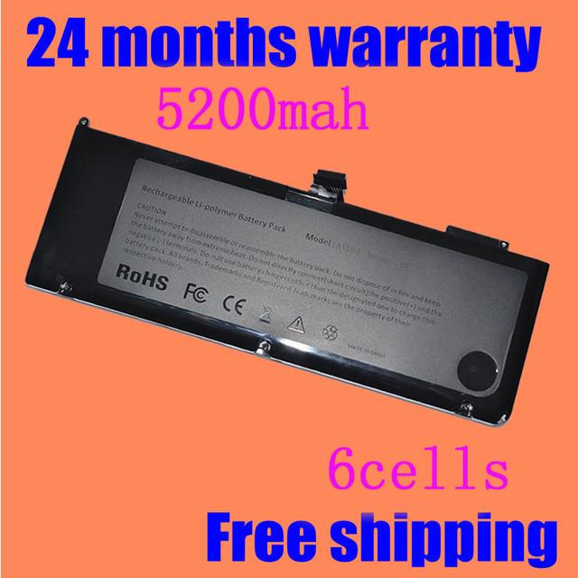 """JIGU Batería A1382 020-7.134-A 661-5844 Para MacBook Pro 15 """"A1286 2011 2012 Modelo Envío Gratis"""