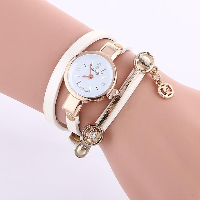 Women Fashion Metal Winding Quartz Watch Girls Classic Casual Small Watch Watch