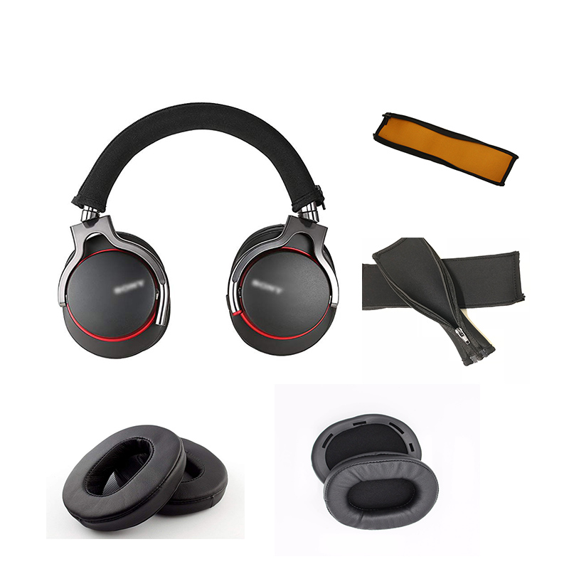 Soft Sponge foam Earmuff Cup Cushion Ear Pads Earpads Headband For SONY MDR 1R 1RNC 1RMK2 1RBTMK2 1A DAC 1ABT Headphones