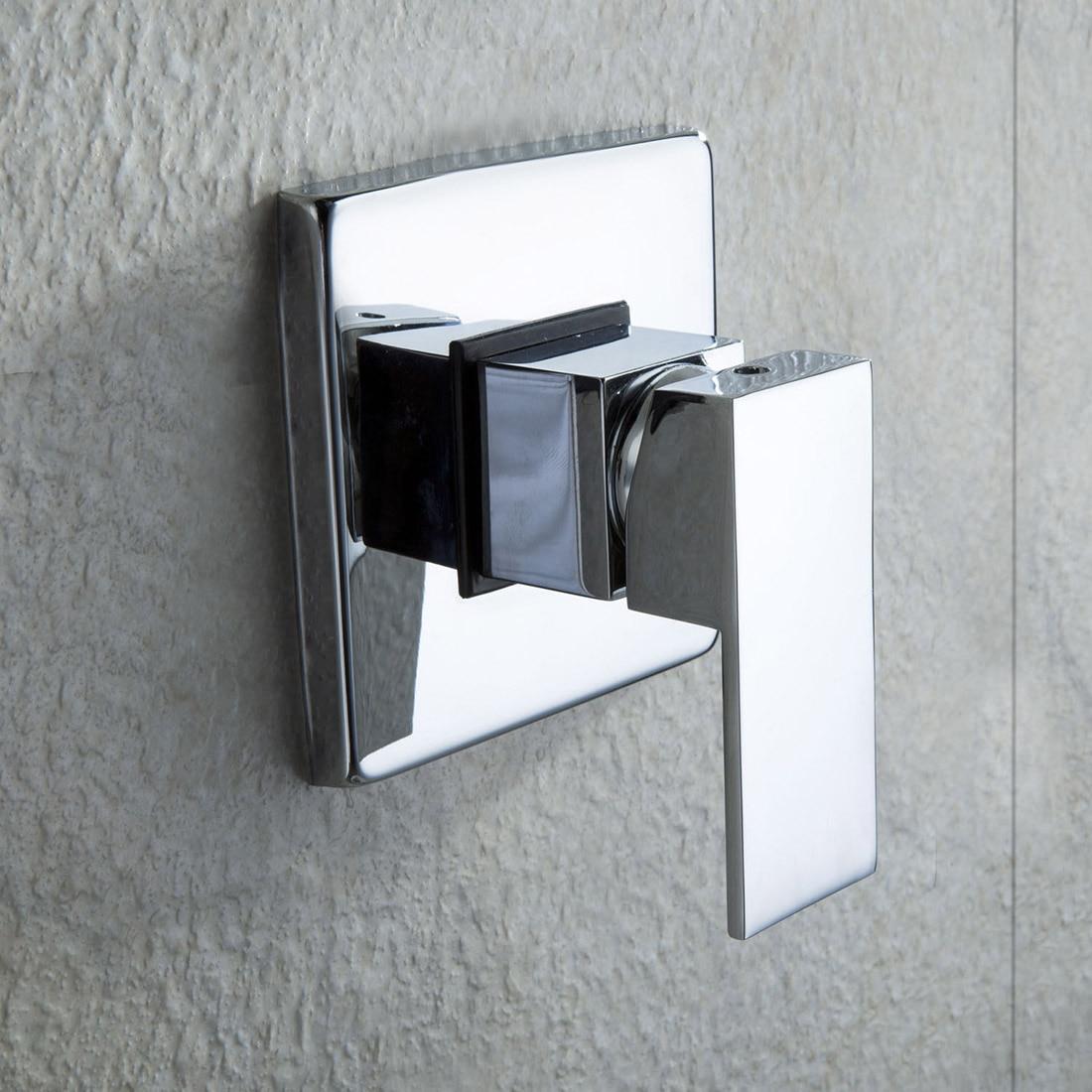 Promotion! 8 single handle Chrome wall mounted brass rain shower faucet setPromotion! 8 single handle Chrome wall mounted brass rain shower faucet set
