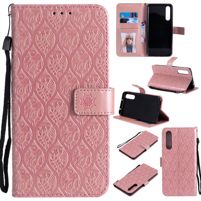 the best attitude 94146 2962a US $6.35 20% OFF|Huawei P20 Lite Case 3D Print Embossing Wallet Flip  Leather for Funda Huawei P20 Pro Cases Huawei P20 Phone Cover P20Lite  P20Pro-in ...