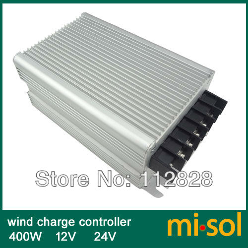 Wind charge controller 400W 12V 24V wind regulator, for wind turbine 400W free shipping 600w wind grid tie inverter with lcd data for 12v 24v ac wind turbine 90 260vac no need controller and battery