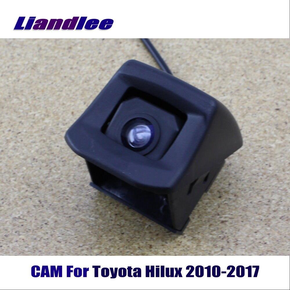 Liandlee CAM Para Toyota Hilux 2010-2017/Visão Traseira Do Carro Retrovisor Câmera Reversa Invertendo Estacionamento Câmera HD CCD visão noturna