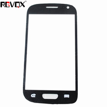 New Front Panel For Samsung Galaxy S3 mini i8190 Touch Screen Sensor Digitizer Outer Glass Repair White Black стоимость